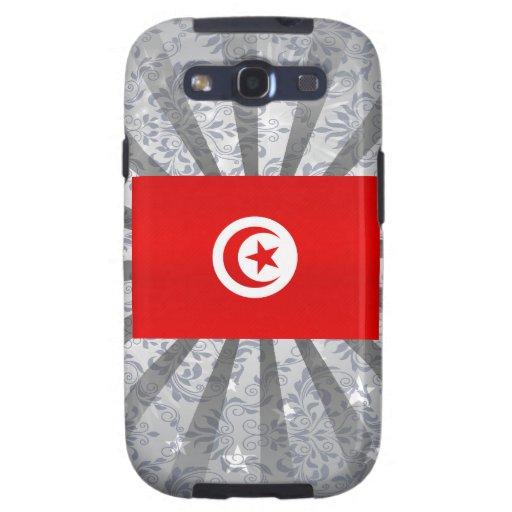 Bandera tunecina pelada moderna galaxy SIII carcasas