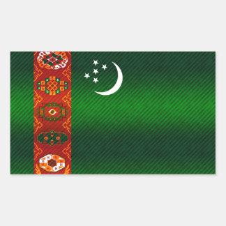 Bandera turcomana pelada moderna rectangular altavoces