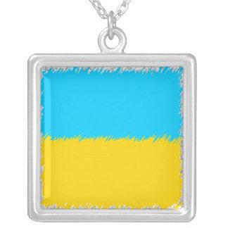 Bandera ucraniana colgante personalizado