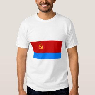 Bandera ucraniana de SSR Remeras