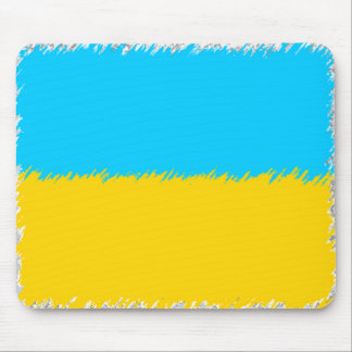 Bandera ucraniana tapete de raton