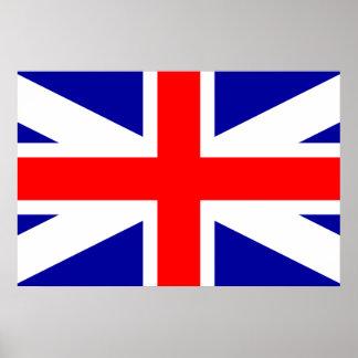 Bandera unida de los legitimistas del imperio poster