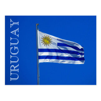 bandera Uruguay Postales