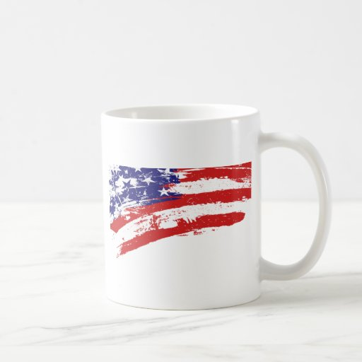 Bandera US/America de los E.E.U.U. Taza Clásica