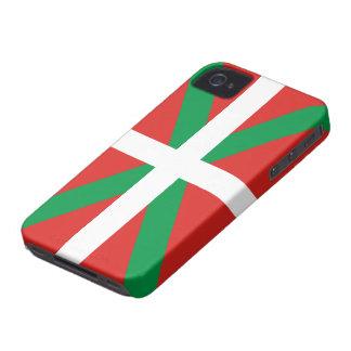 Bandera vasca Case-Mate iPhone 4 funda