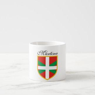 Bandera vasca taza espresso