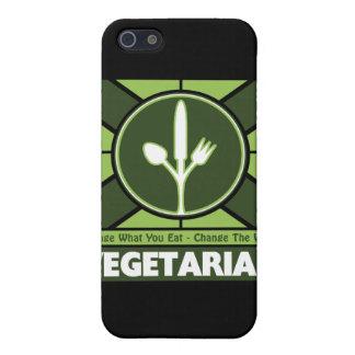Bandera vegetariana iPhone 5 cobertura