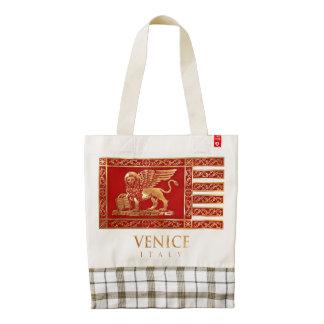 Bandera veneciana bolsa tote zazzle HEART