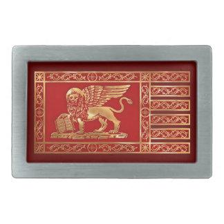 Bandera veneciana hebilla cinturón rectangular