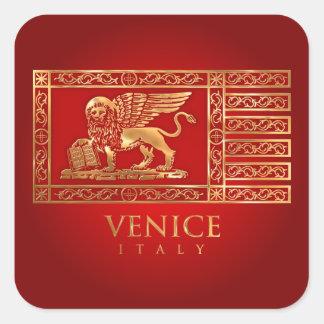 Bandera veneciana colcomanias cuadradases