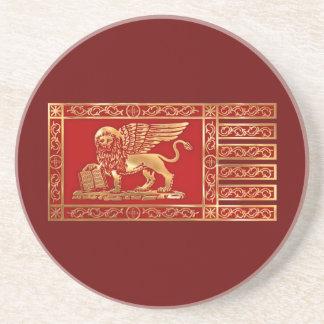 Bandera veneciana posavasos diseño