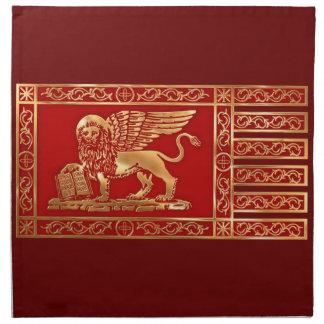Bandera veneciana servilleta