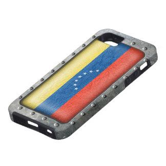 Bandera venezolana industrial iPhone 5 funda