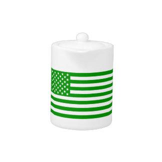 Bandera verde de los E.E.U.U.