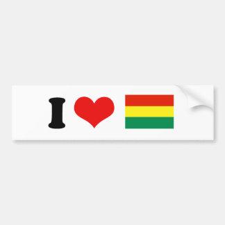 Bandera vieja de Bolivia Pegatina Para Auto