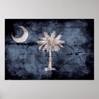 Bandera vieja de Carolina del Sur; Impresiones