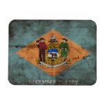 Bandera vieja de Delaware; Imán Rectangular