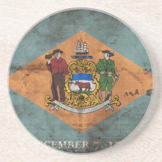 Bandera vieja de Delaware; Posavaso Para Bebida