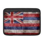 Bandera vieja de Hawaii Fundas MacBook
