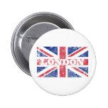Bandera vieja de Londres Pin