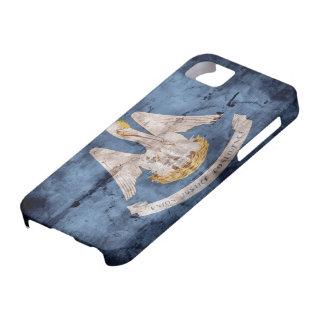 Bandera vieja de Luisiana; iPhone 5 Case-Mate Funda