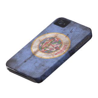Bandera vieja de Minnesota iPhone 4 Coberturas