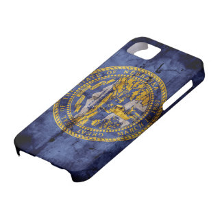 Bandera vieja de Nebraska; iPhone 5 Case-Mate Protector