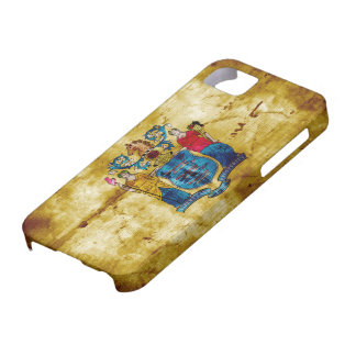 Bandera vieja de New Jersey iPhone 5 Case-Mate Protector