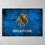 Bandera vieja de Oklahoma; Impresiones