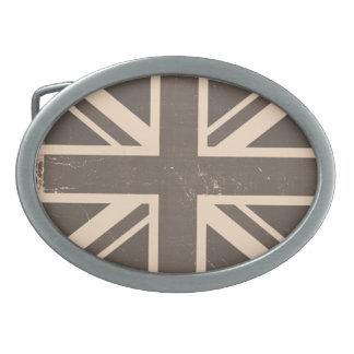 Bandera vieja de Reino Unido Hebilla De Cinturon