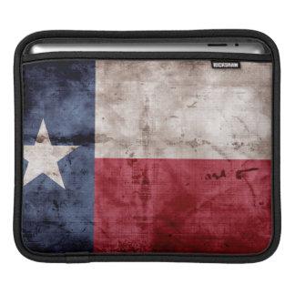 Bandera vieja de Tejas Fundas Para iPads