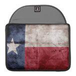 Bandera vieja de Tejas Funda Macbook Pro