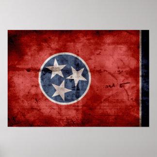 Bandera vieja de Tennessee; Poster