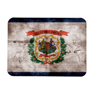 Bandera vieja de Virginia Occidental Iman