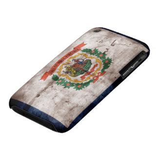 Bandera vieja de Virginia Occidental iPhone 3 Case-Mate Cárcasa