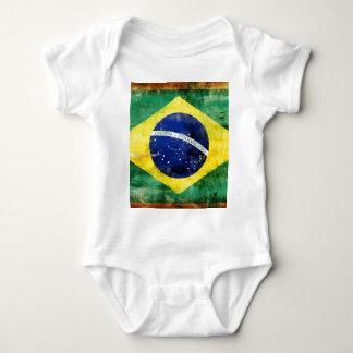 Bandera vieja del Brasil Camisas