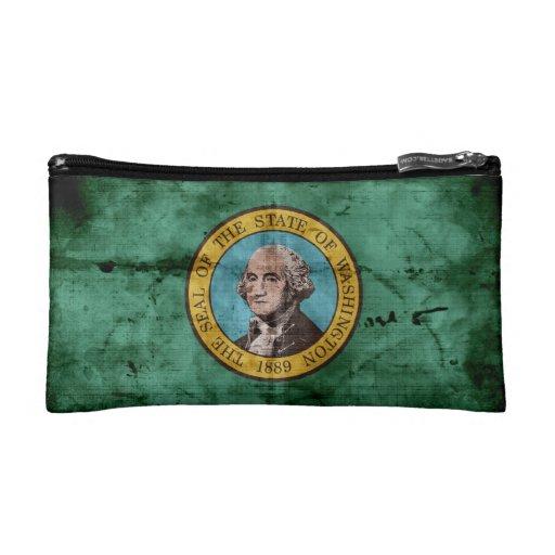 Bandera vieja del estado de Washington
