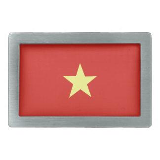Bandera vietnamita hebilla cinturón rectangular