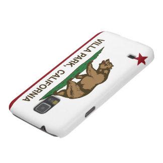Bandera Villa Park de la república de California Funda De Galaxy S5