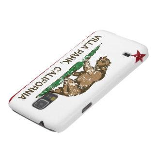 Bandera Villa Park de la república de California Carcasas Para Galaxy S5