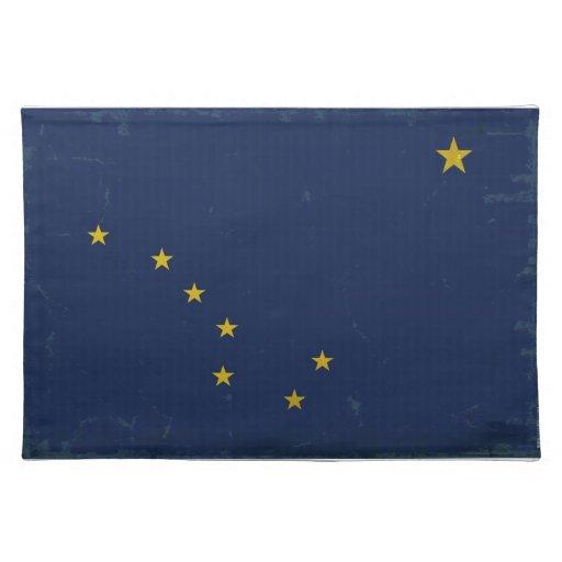 Bandera VINTAGE.png de Alaska Manteles Individuales