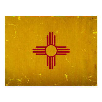 Bandera VINTAGE.png de New México Tarjetas Postales