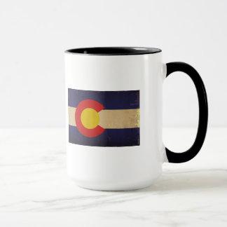 Bandera VINTAGE.png del estado de Colorado