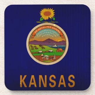 Bandera VINTAGE.png del estado de Kansas Posavaso