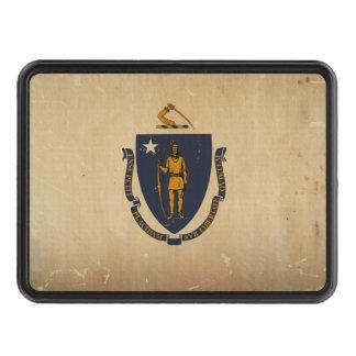 Bandera VINTAGE.png del estado de Massachusetts Tapas De Tráiler