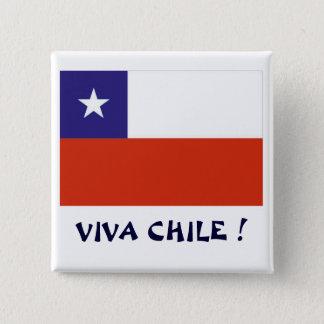 Bandera Viva Chile IV Pinback Button