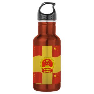 Bandera y emblema nacional de China