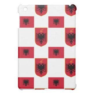 Bandera y escudo albaneses