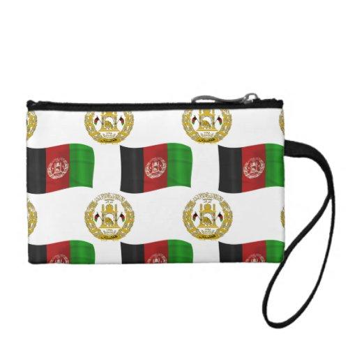 Bandera y escudo de Afganistán