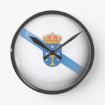 Bandera y escudo de Galicia Relojes